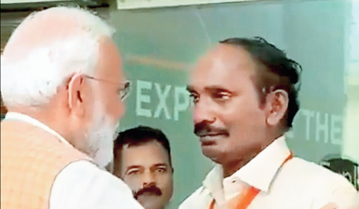 """""""The process of astronaut selection for the mission is completed,"""" the Indian Space Research Organisation chairman K. Sivan (in picture) told reporters in Bangalore."""