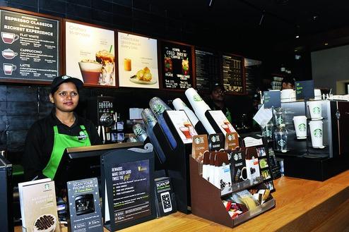 Starbucks splash in new coffee melting pot
