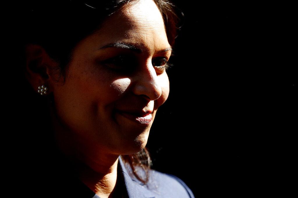 Britain's Home Office Secretary Priti Patel