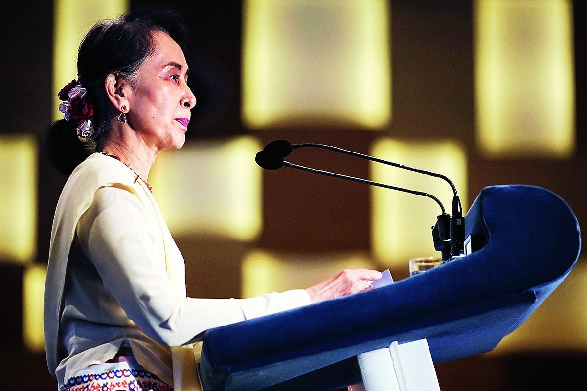 Ties with military not bad: Suu Kyi