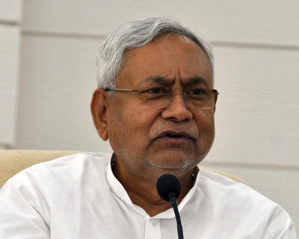 """""""The Prime Minister has given a call for janata curfew on March 22. I appeal to the people of Bihar to observe it during its scheduled hours from 7am to 9pm and also appeal to them to stay indoors as far as possible even after it gets over,"""" Nitish said."""