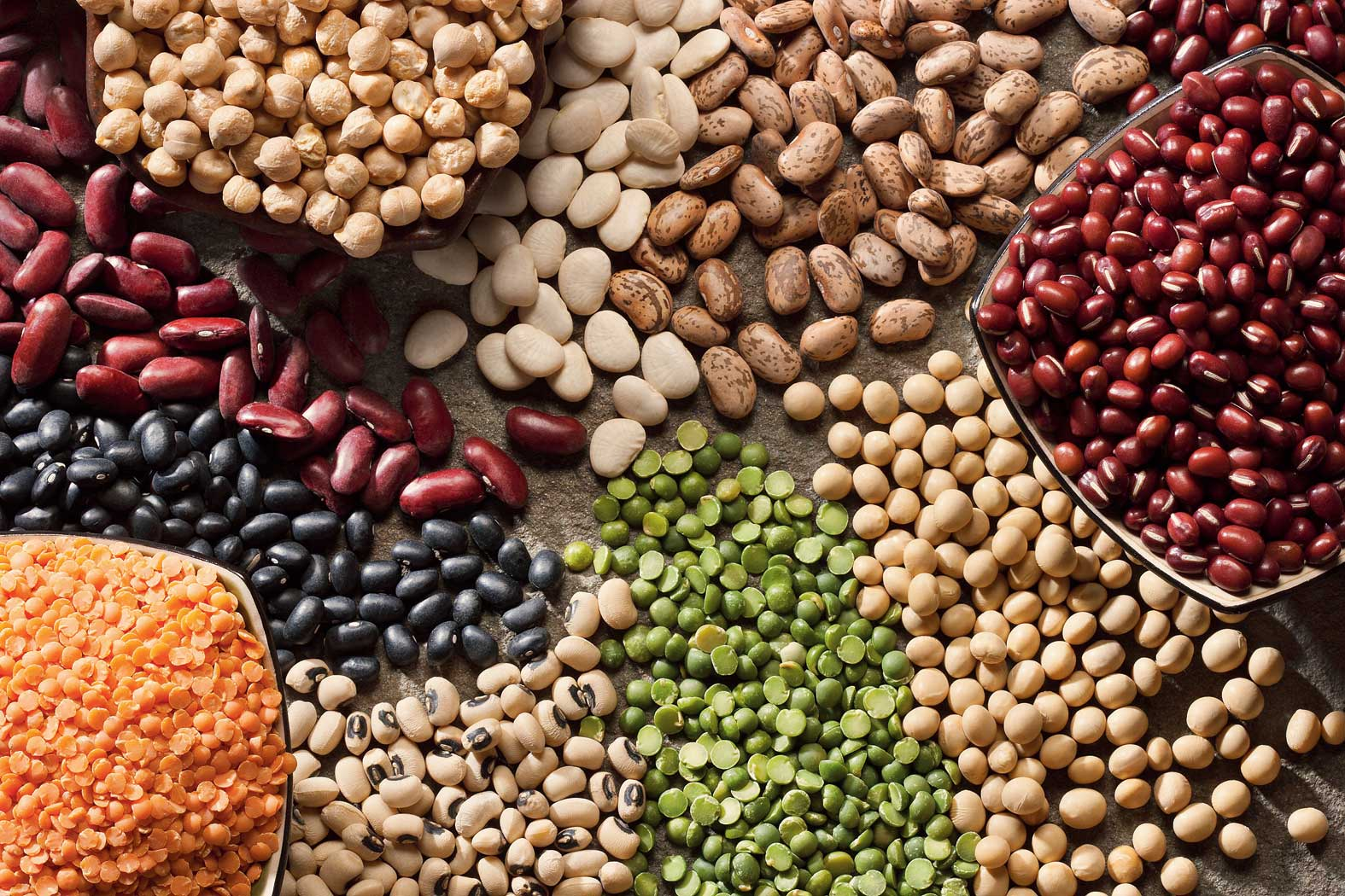 Lentils and dry beans