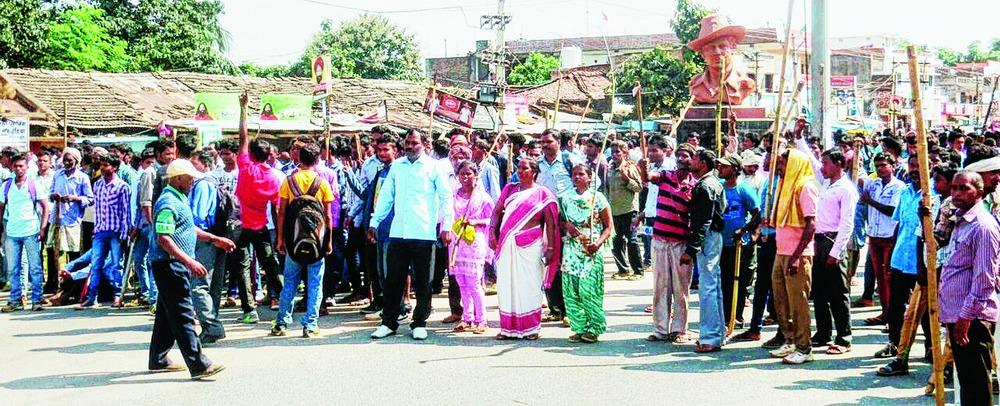 Tribal killed in police firing