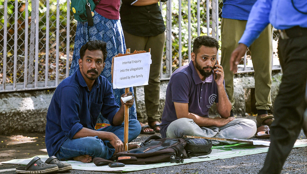 The two students in Chennai on Monday