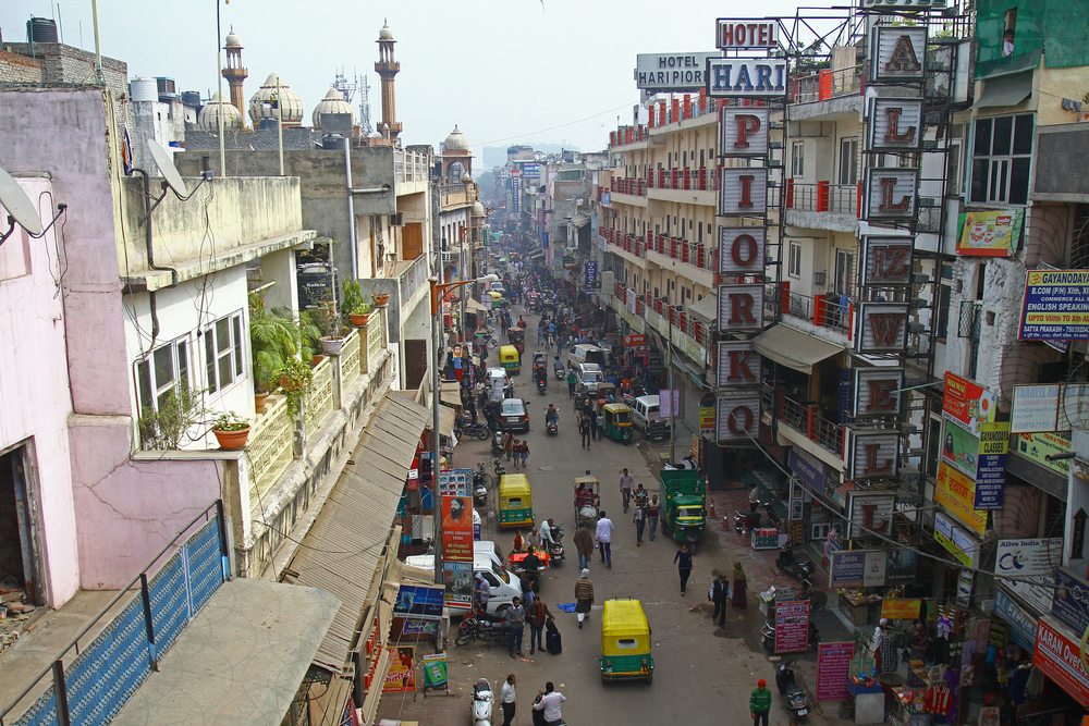 A view of Main Baazar in Paharganj, New Delhi. (Image used for representative purposes only)