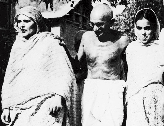 Mahatma Gandhi visited the Valley of Kashmir once, in the first week of August 1947