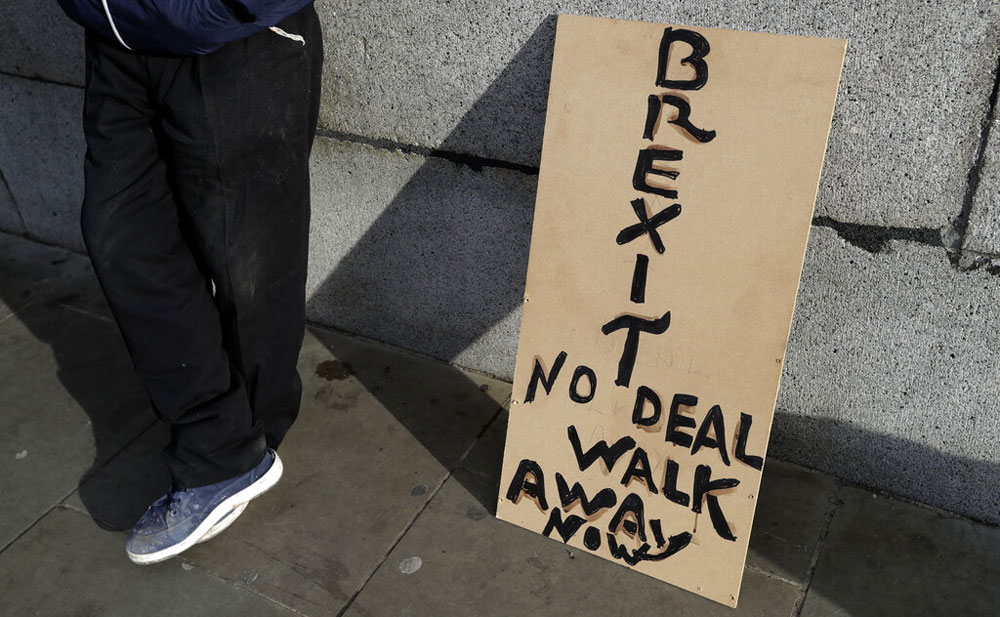The Bank of England has said that in a worst-case scenario, a cliff-edge Brexit could trigger a deep recession, with Britain's economy shrinking 8 per cent within months as unemployment and inflation soar