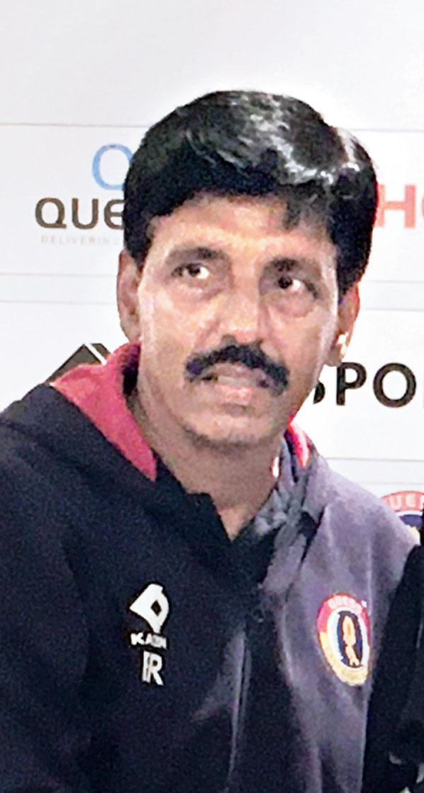 East Bengal assistant coach Bastab Roy