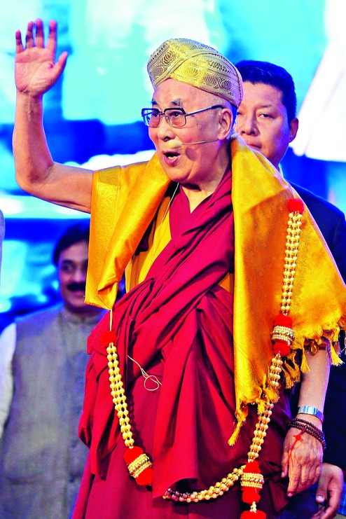 Teach values without touching faith: Dalai