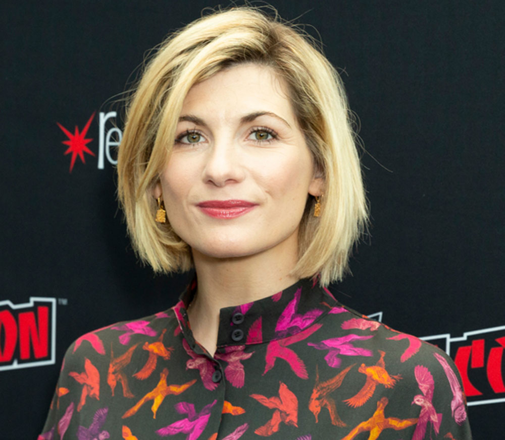 Jodie Whittaker is the first female Doctor in BBC's Doctor Who