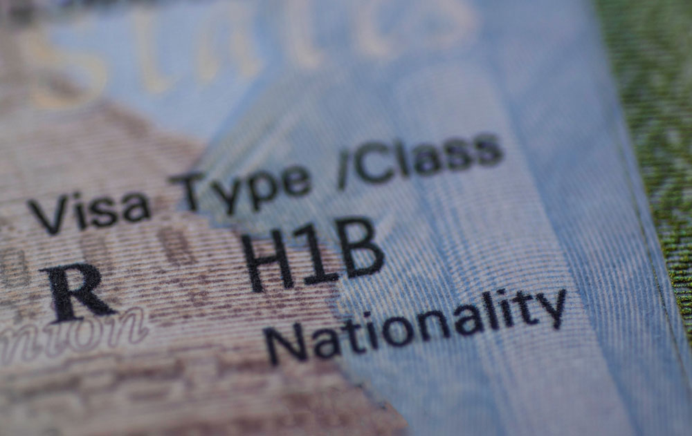 A Washington-based industry source also said the US was deliberating capping the number of H-1B visas in response to global data storage rules.