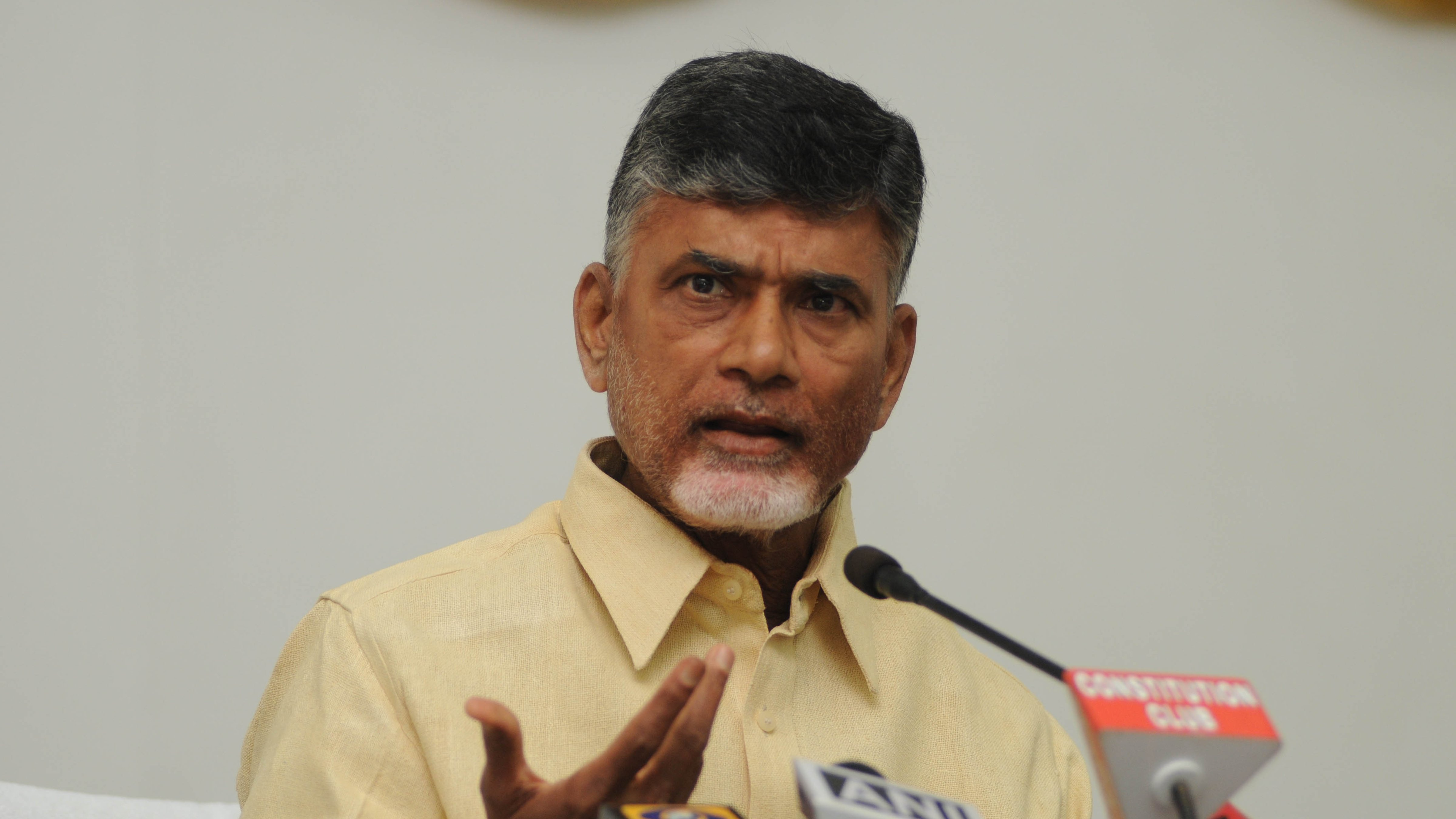 Naidu wants the Centre to fulfil all promises made during Andhra Pradesh's bifurcation in 2014 and alleged that the Prime Minister was not following raj dharma by denying the state special status.
