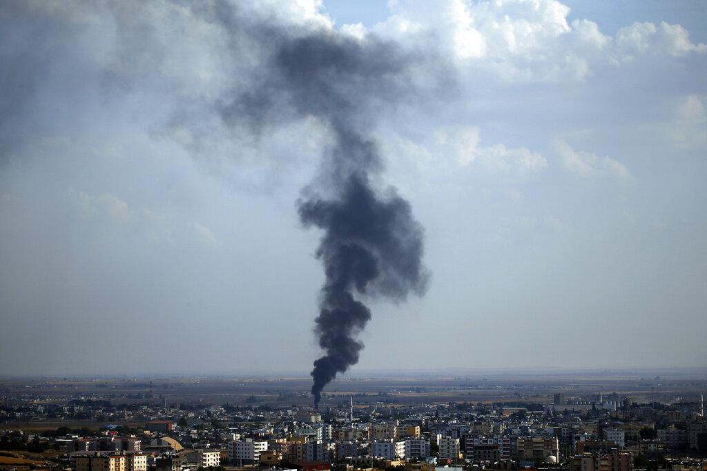 Kurds say Turkey violating ceasefire