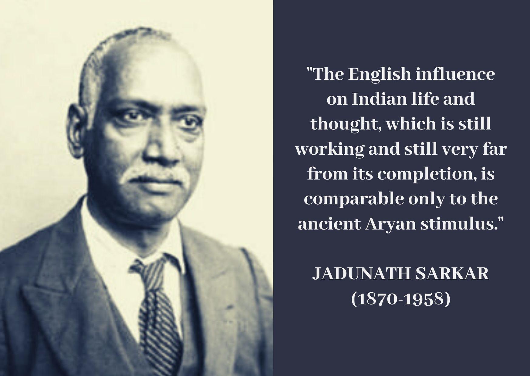 Sir Jadunath Sarkar