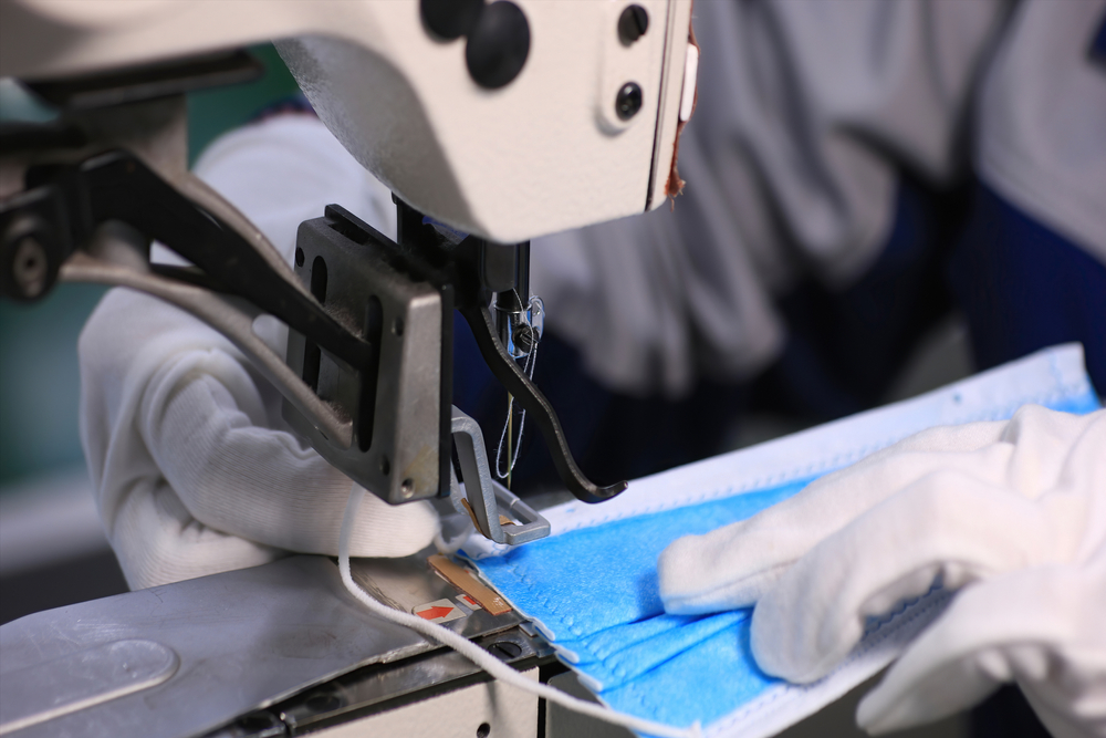The garment hub of Tirupur in western Tamil Nadu has come to the aid of the government with over a 100 companies now manufacturing masks and protective equipment instead of t-shirts and other knit garments for international brands.