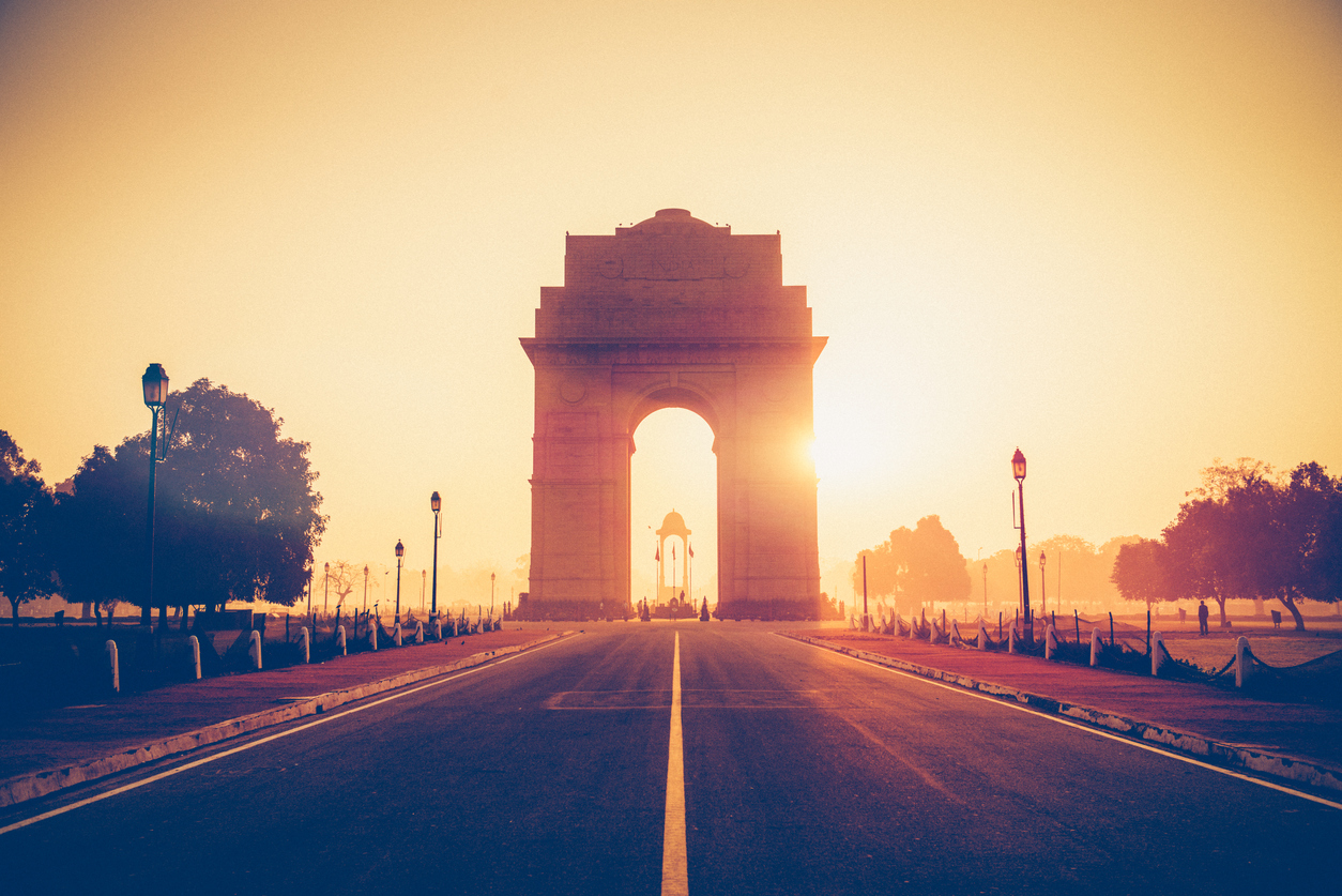 India Gate, New Delhi, at sunrise. There may come a time in the near future when the current ideas of 'country' or 'nation' may seem as old and quaint as the steam engine, useful for its time but completely obsolete now.