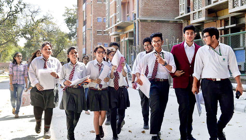 Students complete their CBSE Class XII examination. If the boards are not willing to restrain themselves when it comes to giving high marks, the government must intervene for the sake of the students and the education system.