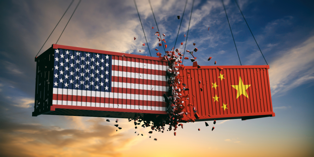 For investors, the disastrous start to the week came due to fears of a fresh trade war between the US and China that could have adverse implications on global economic growth.