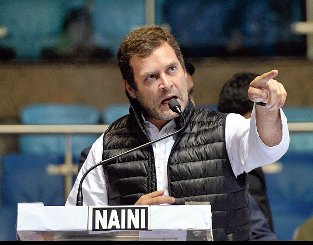 4 themes to drive Congress strategy, says Rahul