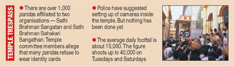 Criminals thrive at Kali abode