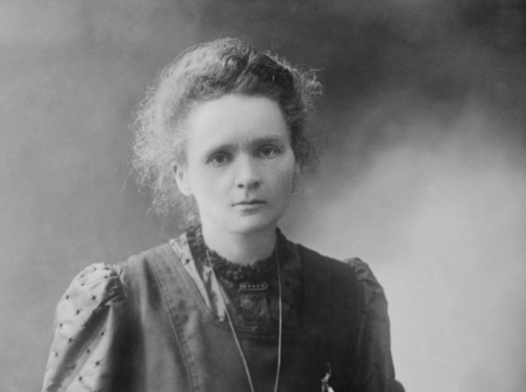 Marie Curie, who conducted pioneering research on radioactivity and was the first person to win the Nobel Prize twice