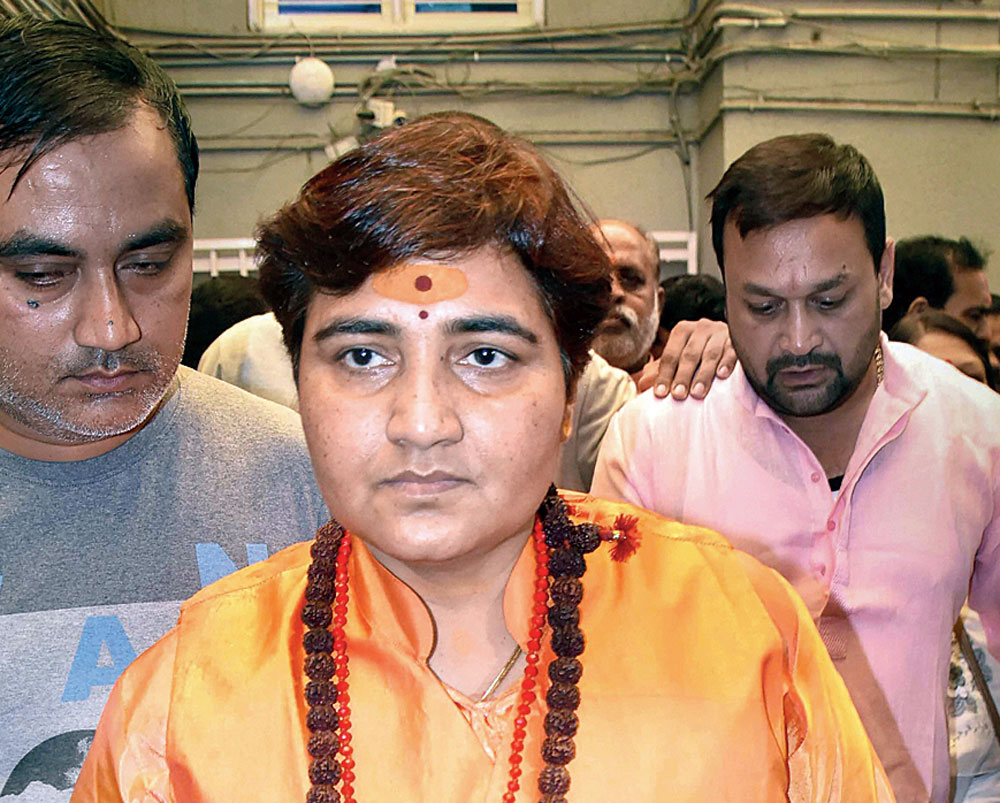 The plea to hold in-camera hearing was filed by the National Investigation Agency in which BJP MP Pragya Thakur (in picture) is among the accused