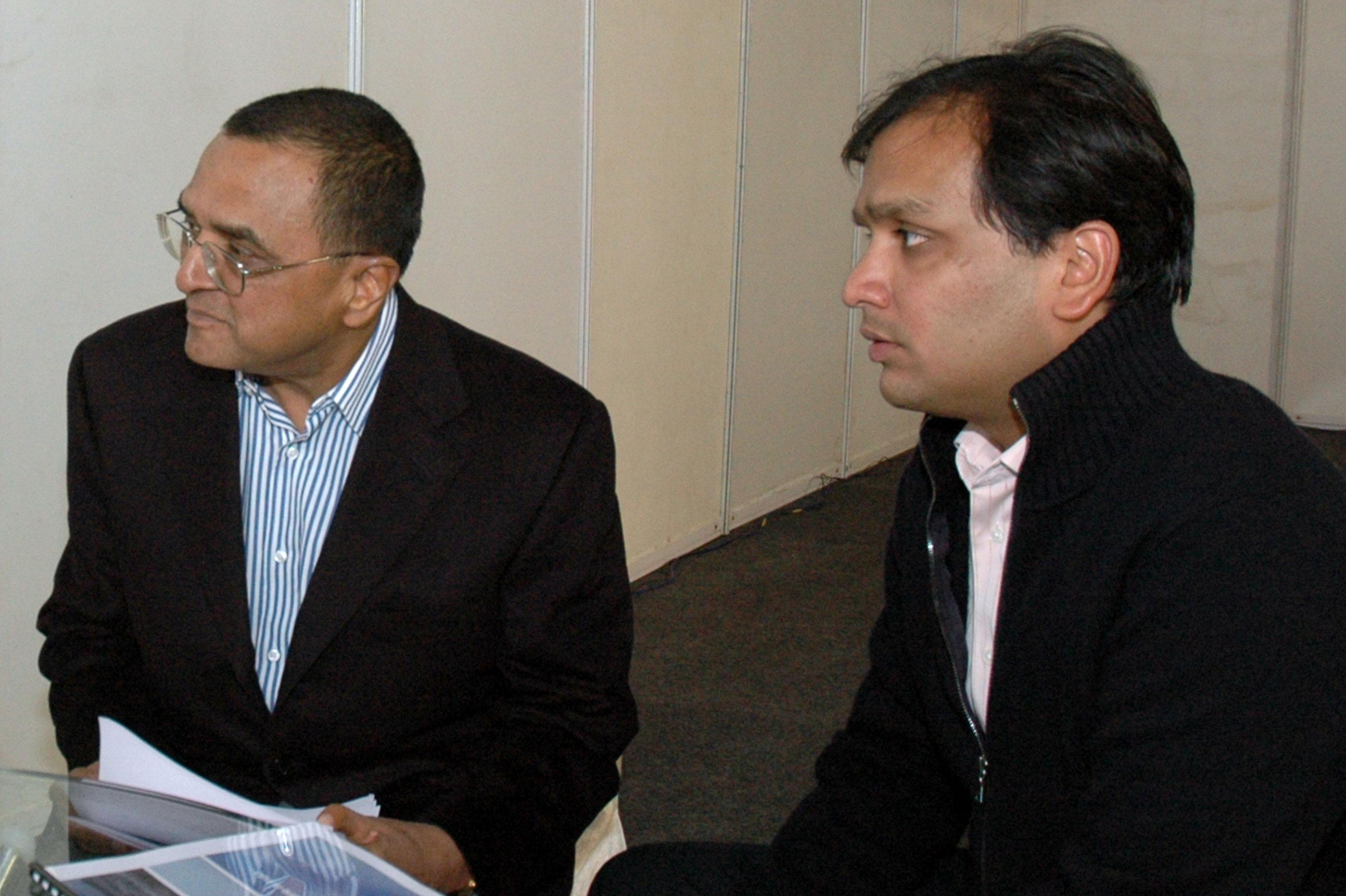 Yogendra Kumar Modi (left) and Prashant Modi.
