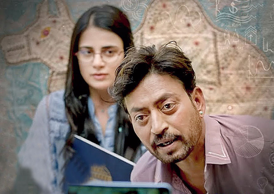 Angrezi Medium is, of course, not a Homi Adajania film. It's an Irrfan Khan film.