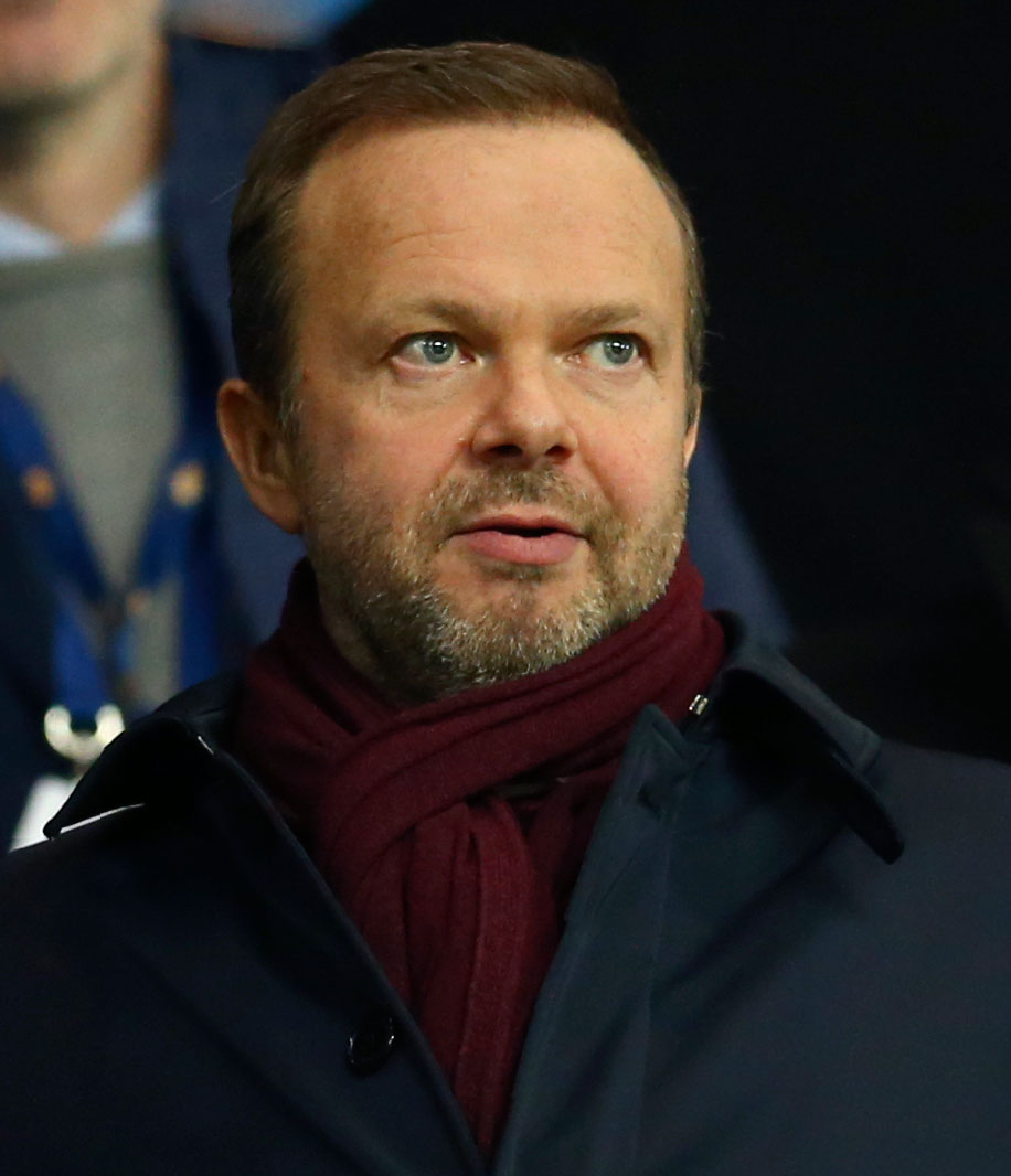 Ed Woodward, Manchester United executive vice-chairman