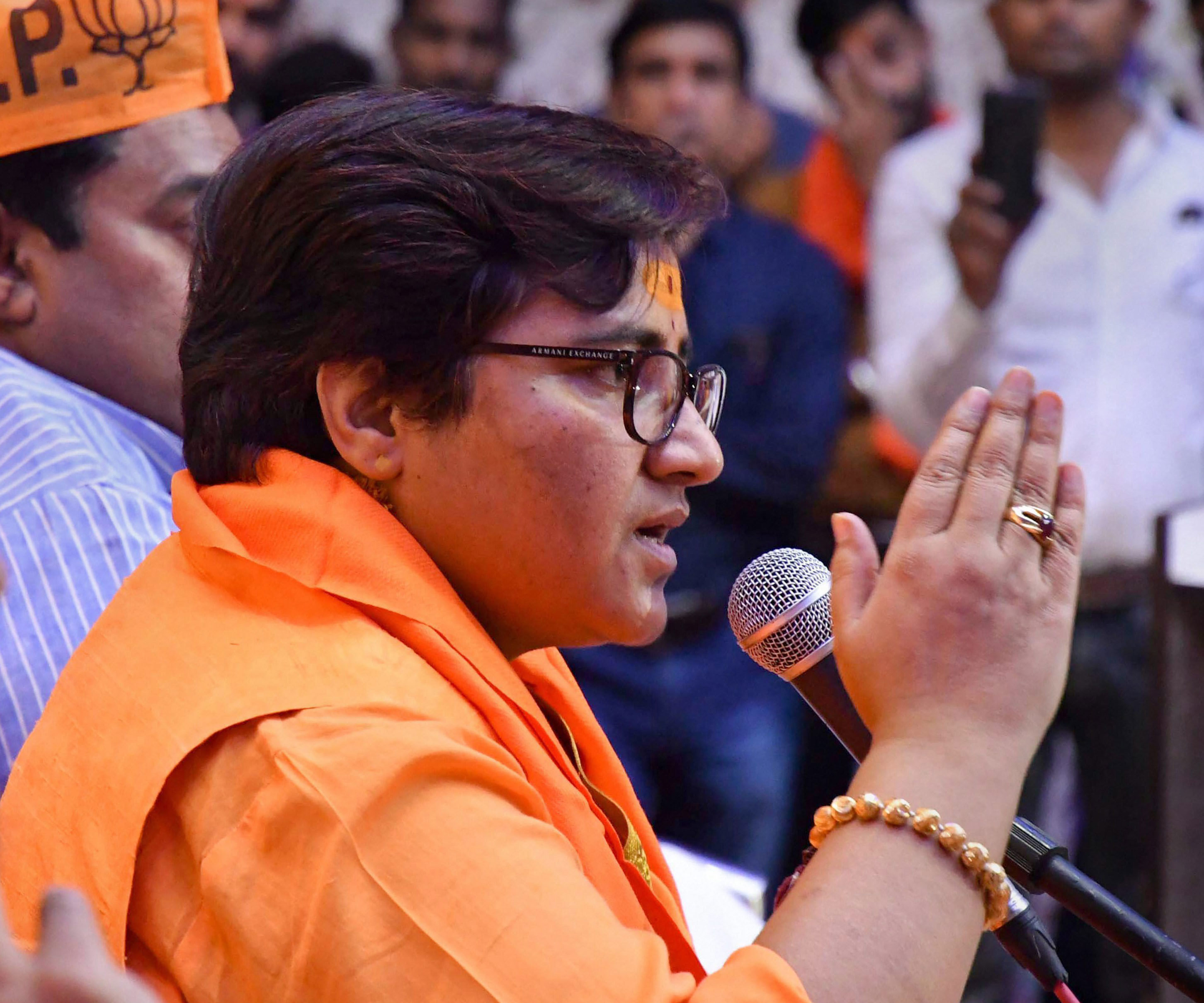 Had 'cursed' 26/11 hero Hemant Karkare, says Sadhvi Pragya