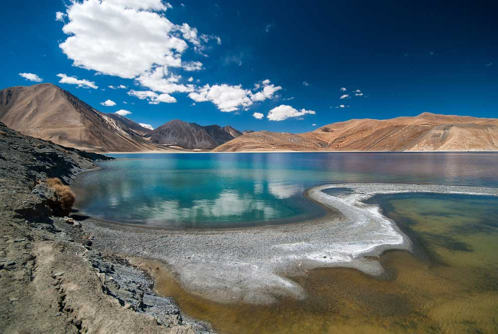 The Galwan Valley and Pangong Tso, areas witnessing heightened tension between India and China, are part of the Chushul constituency.