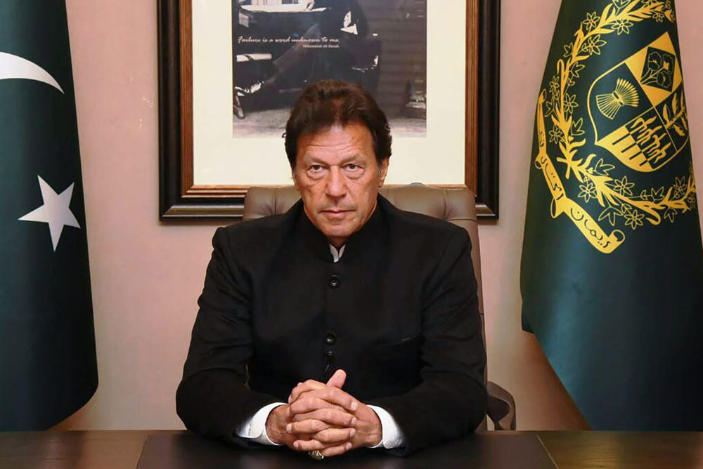 Pakistan's Prime Minister Imran Khan had said that he had tried till recently to open a dialogue with India as 'civilised neighbours' to settle differences over Kashmir through a 'political statement'.