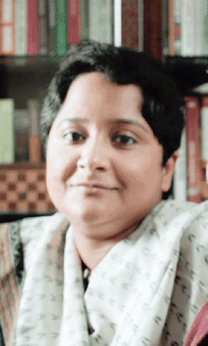Kasturi Basu, who was allegedly threatened by a group of men