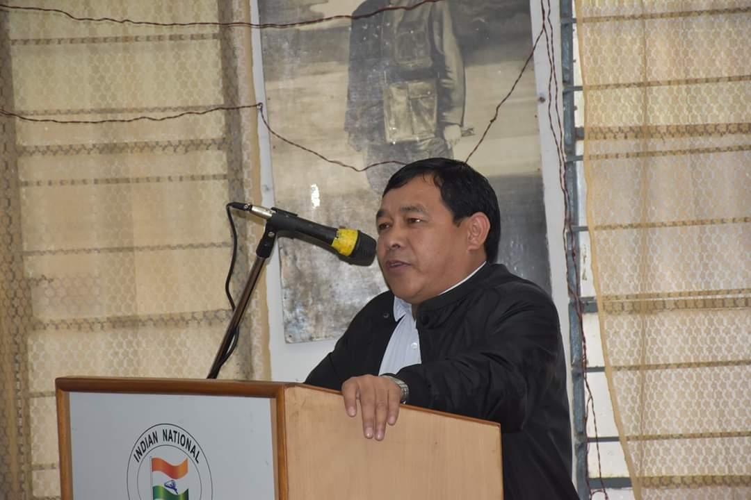 Meghalaya PCC working president James Lyngdoh