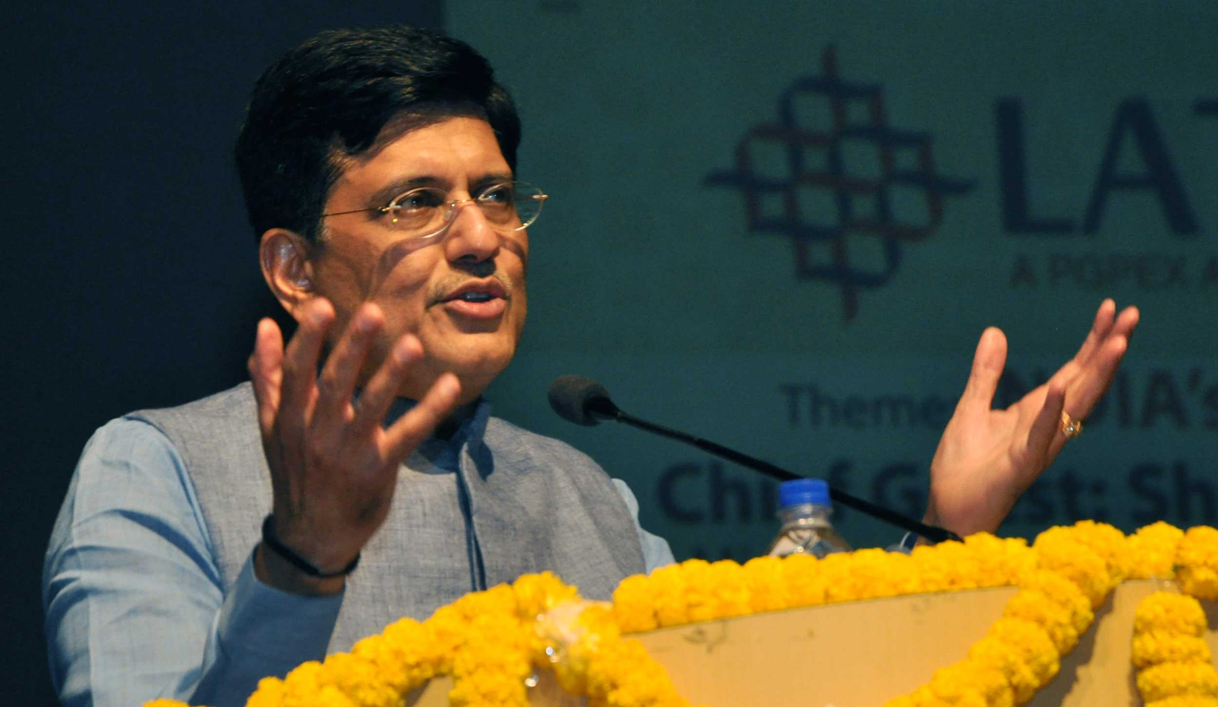 """""""We are concerned that it (export credit) has fallen, and will come up with the contours of a vibrant programme (to address the issue) soon, which will particularly support micro, small and medium enterprises,"""" Goyal said at a meeting of the Board of Trade."""