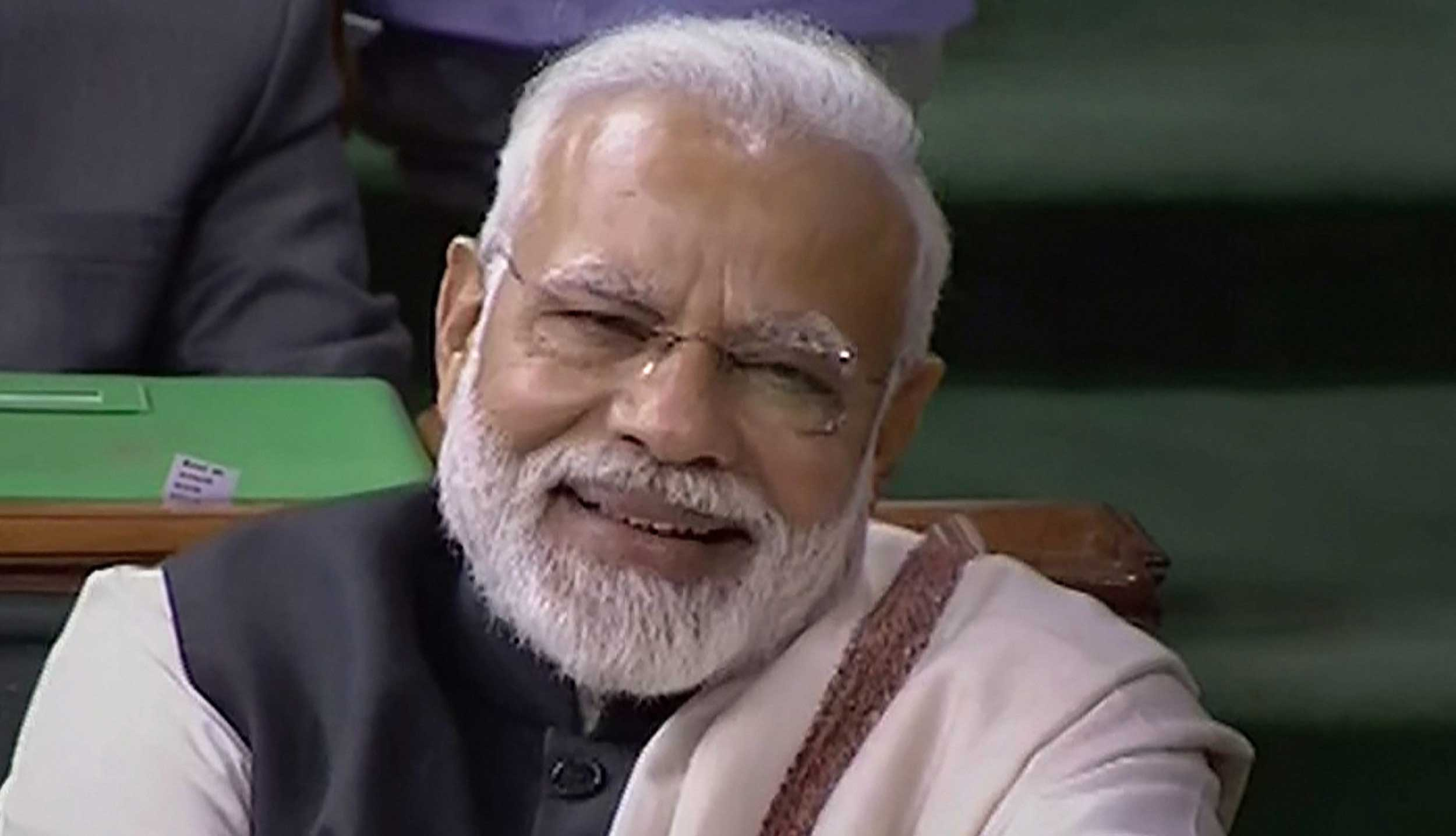Did more in 55 months than the Cong had in 55 years, says Modi