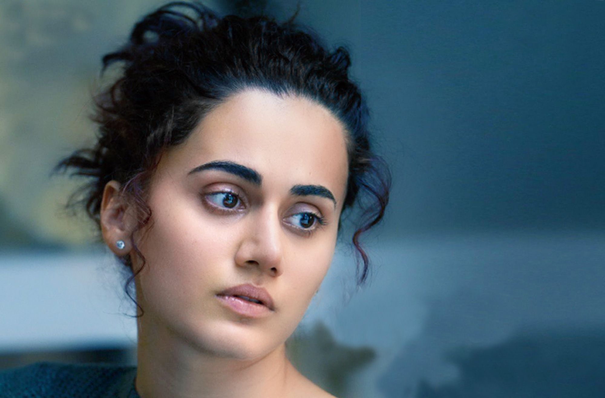 Taapsee as Naina in Badla.