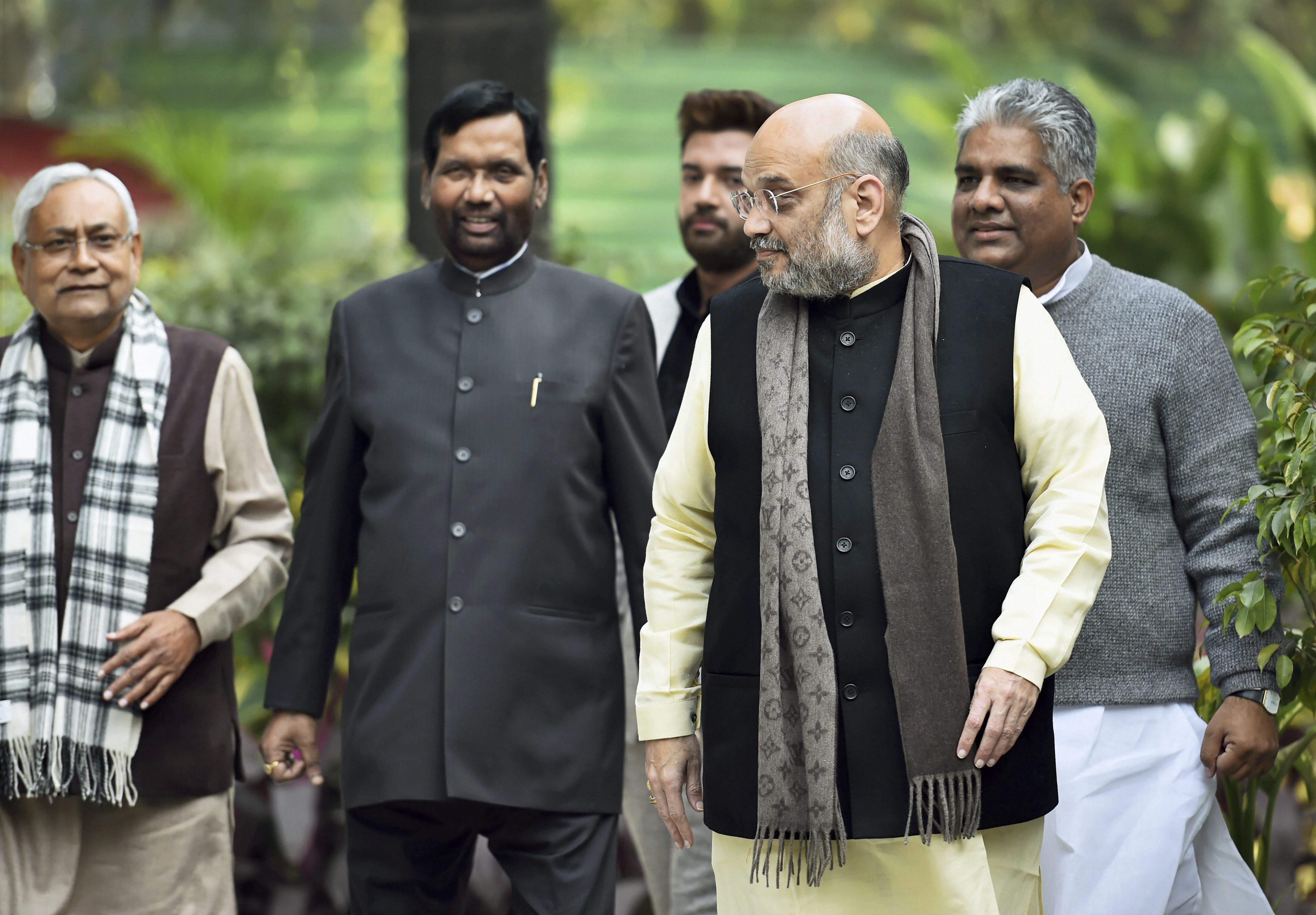 Telling Silence Of Bjp Allies Telegraph India