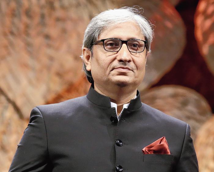 'Sad' truth in the mirror for media, says Ravish Kumar