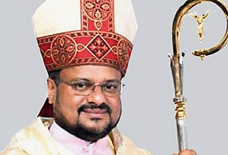 Bishop Franco Mulakkal.
