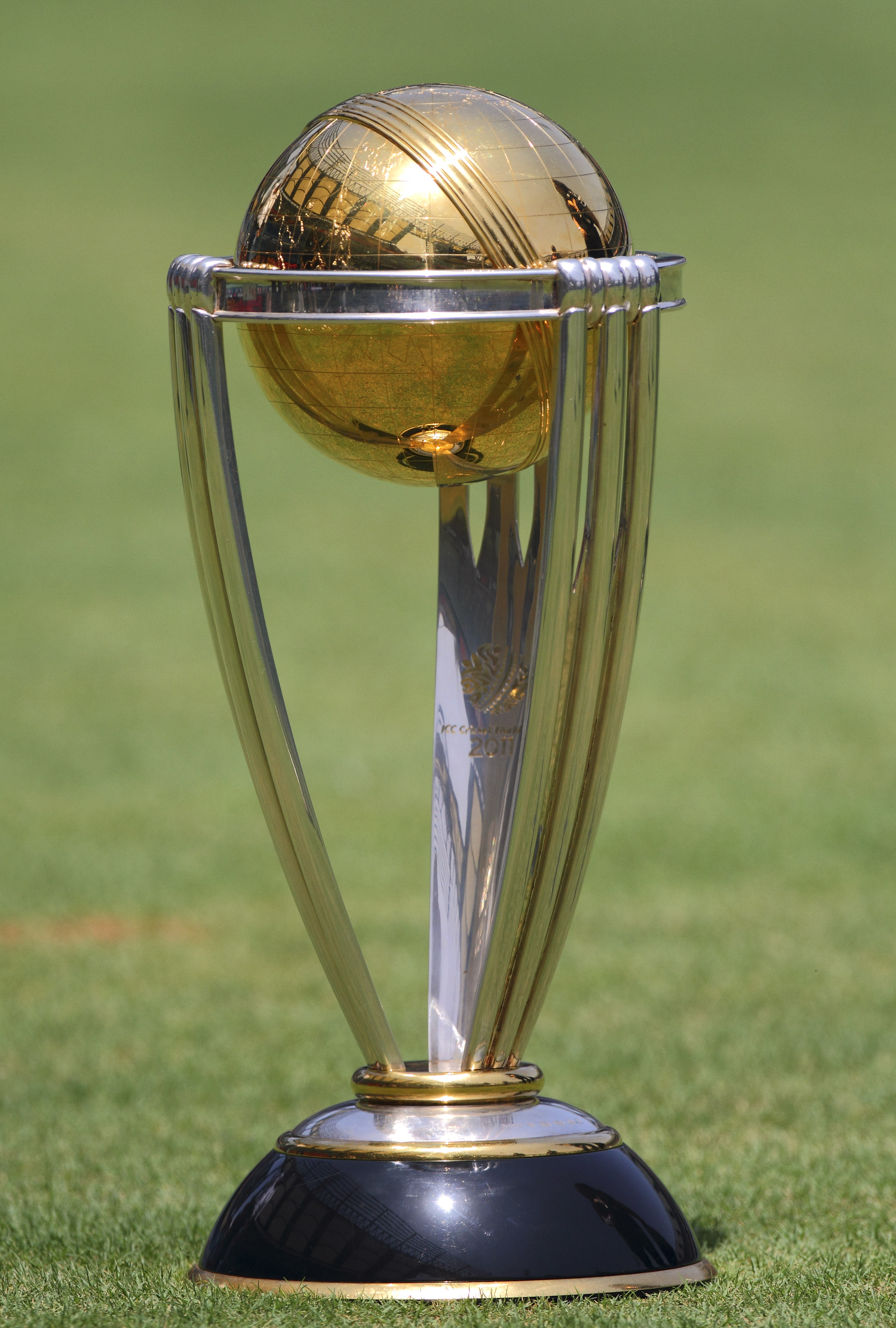The ICC World Cup trophy.