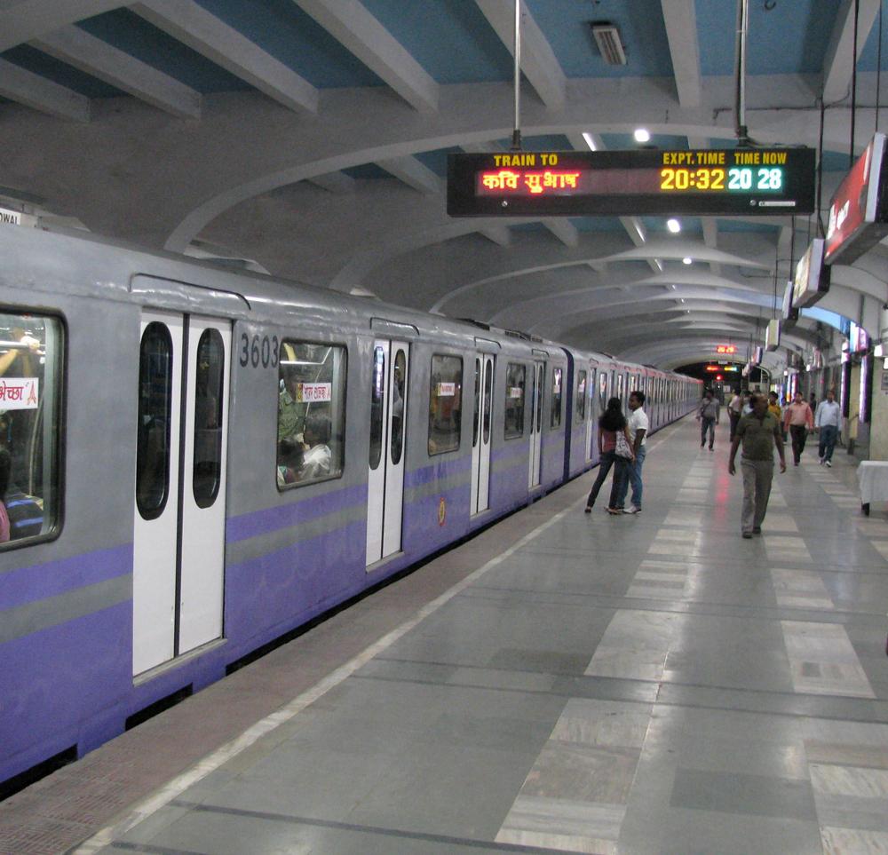 A Metro Railway train