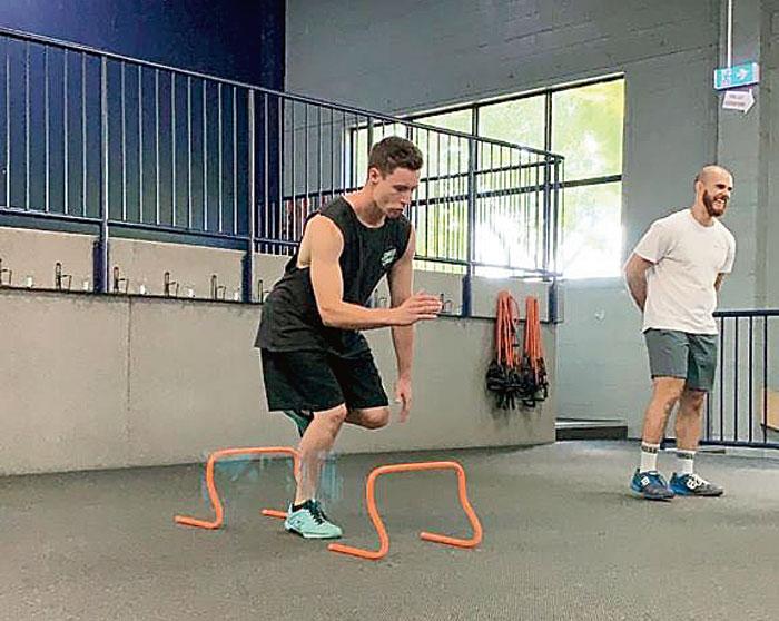 Progressive plyometric training