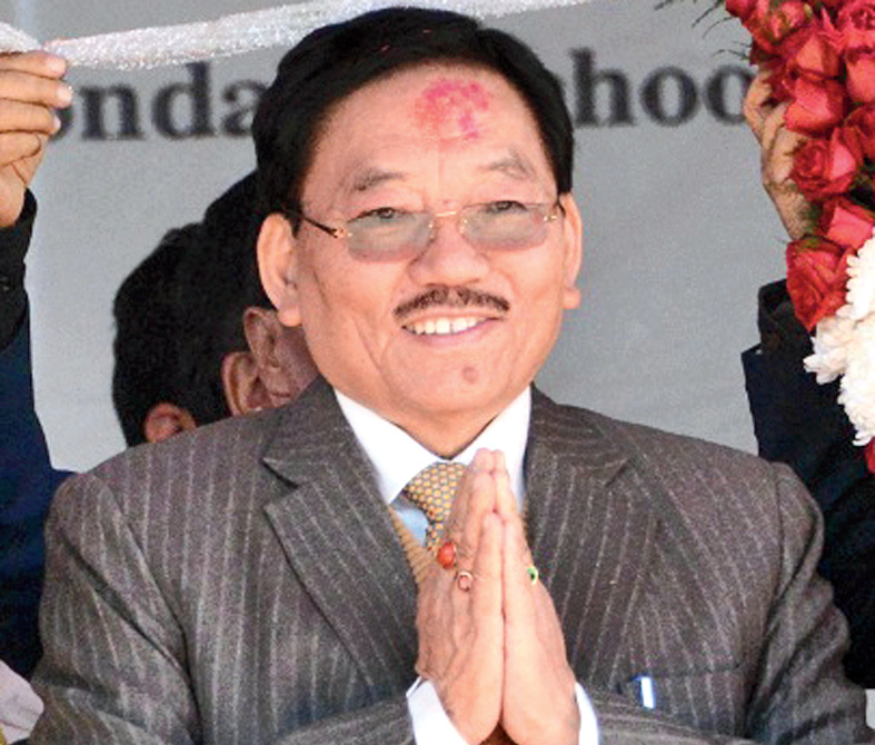 SDF president and Sikkim chief minister Pawan Chamling