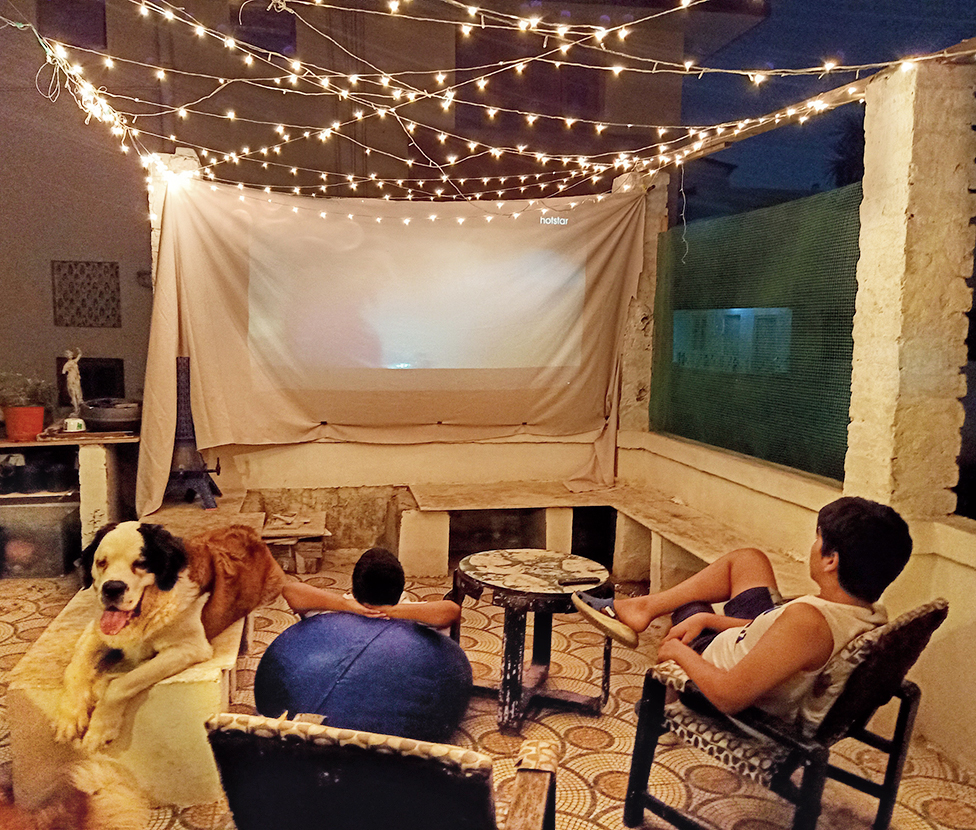 Snapshots from Abhishek's DIY lockdown diary: Theatres are shut but you can create your own little theatre at home
