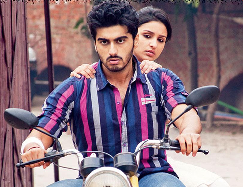 Arjun Kapoor and Parineeti Chopra in their debut film Ishaqzaade