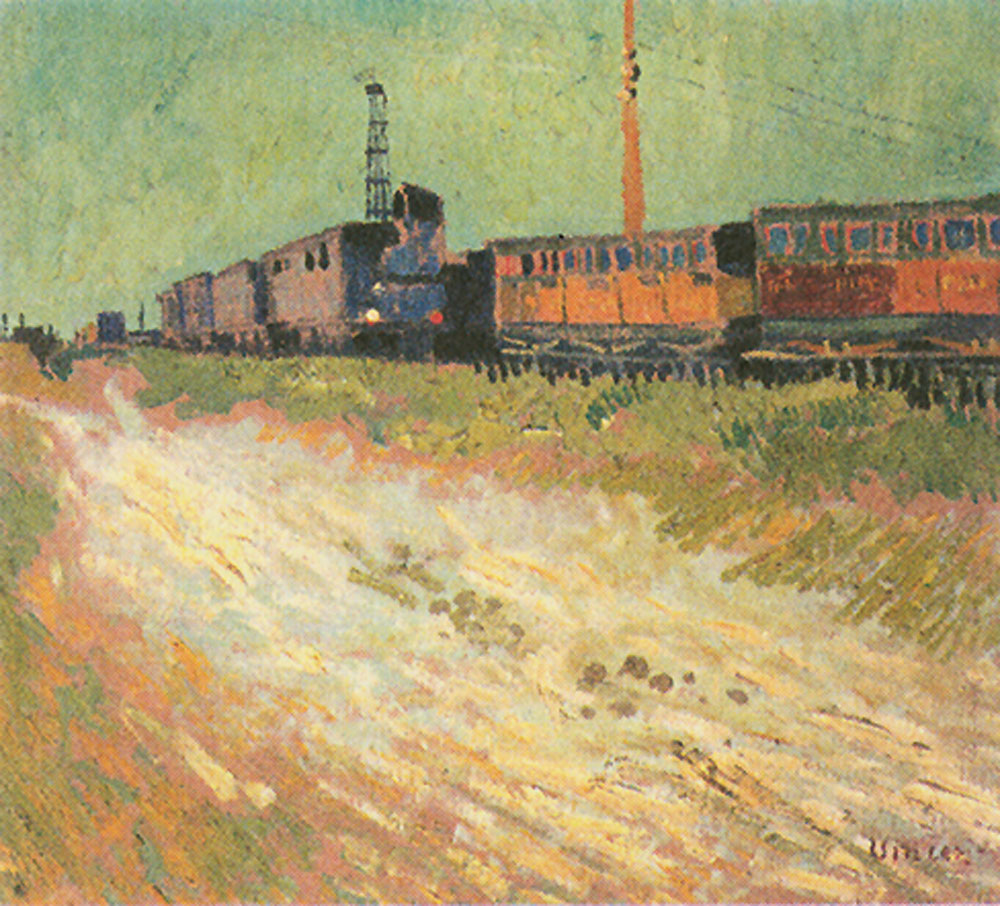 Railway Carriages, 1888