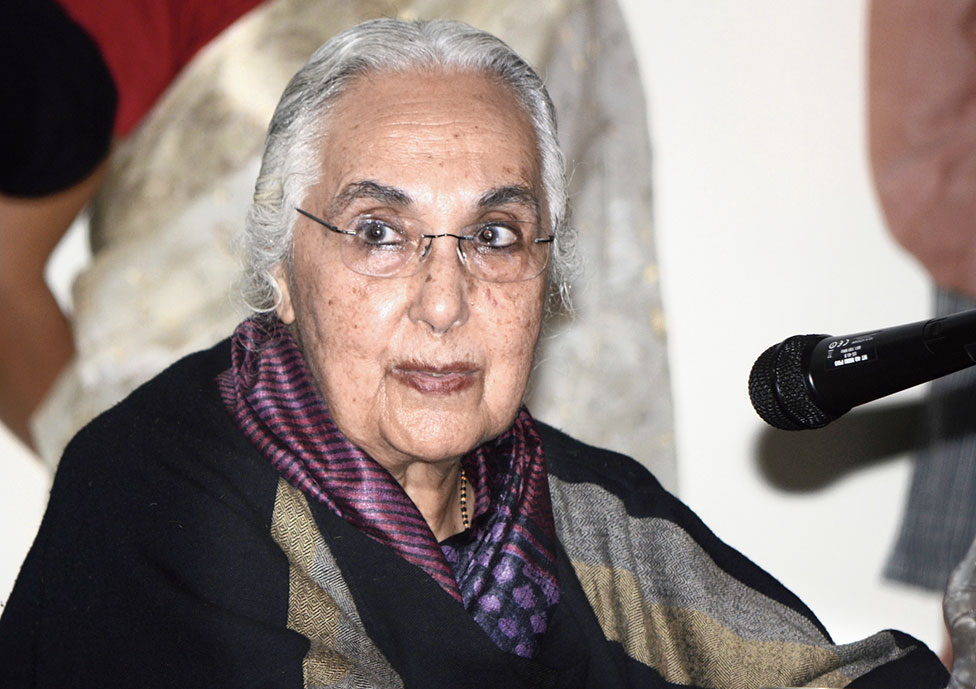 Romila Thapar was awarded the prestigious Kluge Prize of the US Library of Congress, which honours lifetime achievement in studies not covered by the Nobel Prize. She has been a teacher and researcher for nearly six decades.