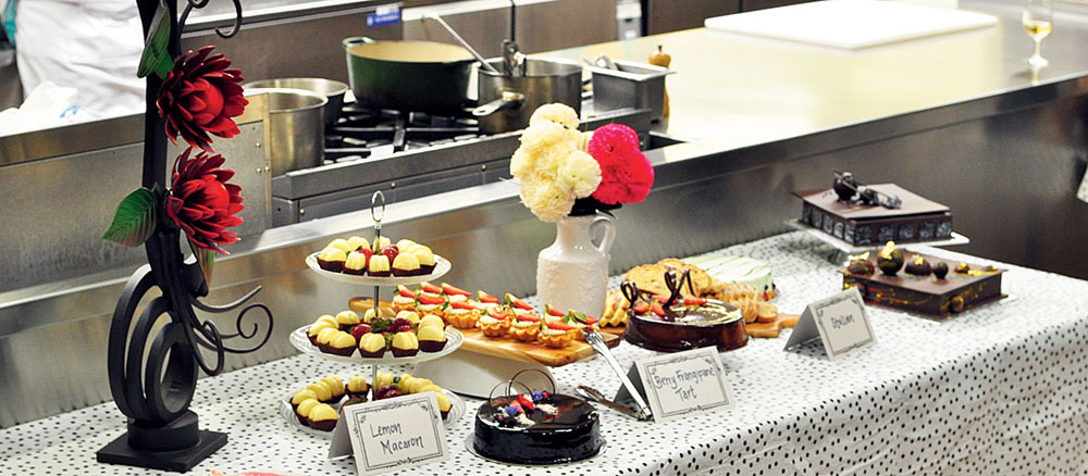 There has been a significant rise in the quality of patisserie and cakes.
