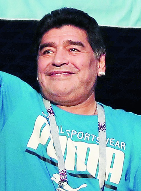 Fifa urges 'football great' Maradona to be respectful